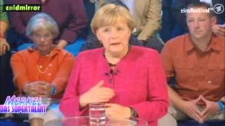 Merkel meets Das Supertalent - Coldmirror Synchro