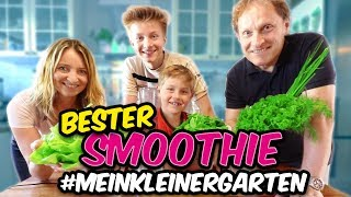 MEGA GESUNDE SMOOTHIES aus #MeinKleinerGarten - TipTapTube *Werbevideo