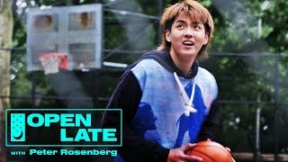 Kris Wu Hits the Court and Previews Rich the Kid Collab | Open Late with Peter Rosenberg