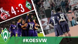 Der Traum lebt weiter, Zlatko Junuzovic hat Bock auf mehr | 1. FC Köln – SV Werder Bremen 4:3