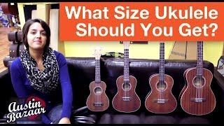 Different Ukulele Sizes | How to Buy a Ukulele Part 1