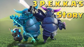 How were the Mini PEKKA & Super PEKKA Created? CoC meets Clash Royale | Clash of Clans Story [WoC]