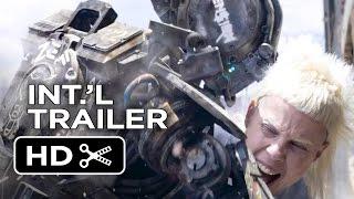 Chappie Official UK Trailer #1 (2015) - Hugh Jackman, Sigourney Weaver Robot Movie HD