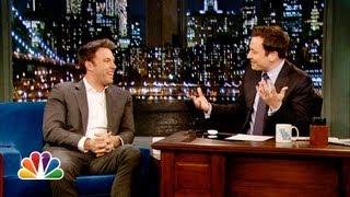 Ben Affleck Tells Parenting Stories, Talks Batman (Late Night with Jimmy Fallon)