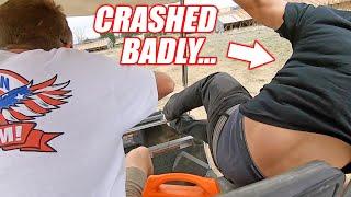 Cleetus Shows Off His Golf Cart Boggin Skills... Ended SO BADLY! (Boostedboiz Shop Visit)