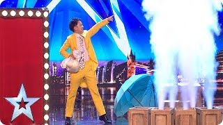 Wardrobe WIZARDS! Are these the QUICKEST costume changes of all time?! | Auditions | BGT 2018