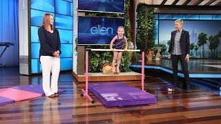 This 3-Year-Old Gymnast Is Flipping Awesome