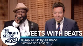 """Tweets with Beats: Trump Is Hurt by These """"Clowns and Losers"""""""