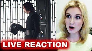 Star Wars The Last Jedi Trailer REACTION