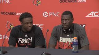 Jawon Pass & Colin Wilson Kent State Post-Game 9-23-2017