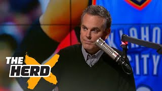 Russell Westbrook had the worst quarter in NBA history in playoff triple-double | THE HERD
