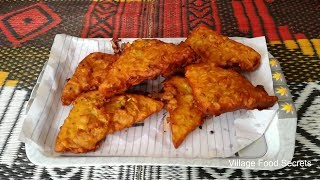 Bread Pakora ❤  How to make Potato Bread Pakora ❤  Aloo Bread Pakora ❤ Village Food Secrets