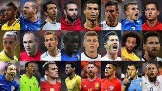 The Best FIFA Men's Player shortlist - EXCLUSIVE