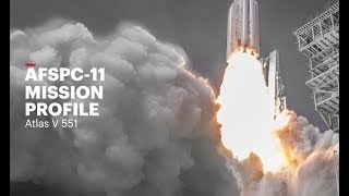 Atlas V AFSPC-11 Mission Profile