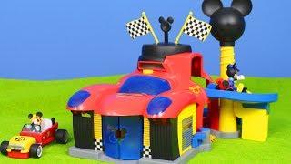 MICKY MAUS WUNDERHAUS: Roadster Racers SPIELZEUGAUTOS & Feuerwehrmann | Disney Mickey Mouse deutsch