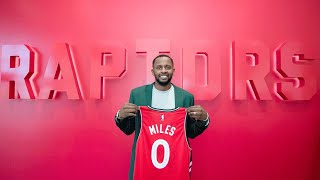 Raptors hope to increase three-point percentage by acquiring Miles