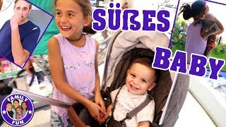 SÜßES BABY SHOPPING & SONG CONTEST IM AUTO #90 Our life FAMILY FUN