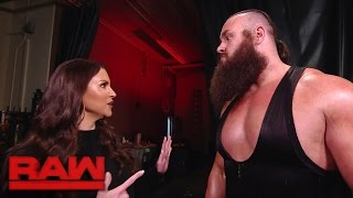 Stephanie McMahon grants Braun Strowman
