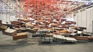 Chiharu Shiota: Accumulation: Searching for Destination / Art Basel Unlimited 2016
