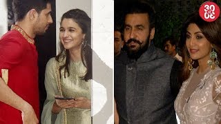 Sid–Alia End All Break-up Rumors? | Ex Couple Akshay–Shilpa Send Diwali Invites To Each Other