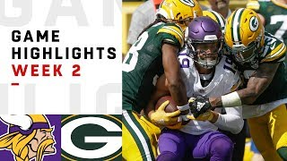 Vikings vs. Packers Week 2 Highlights   NFL 2018