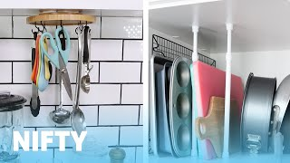 8 Unexpected Ways To Organize The Kitchen