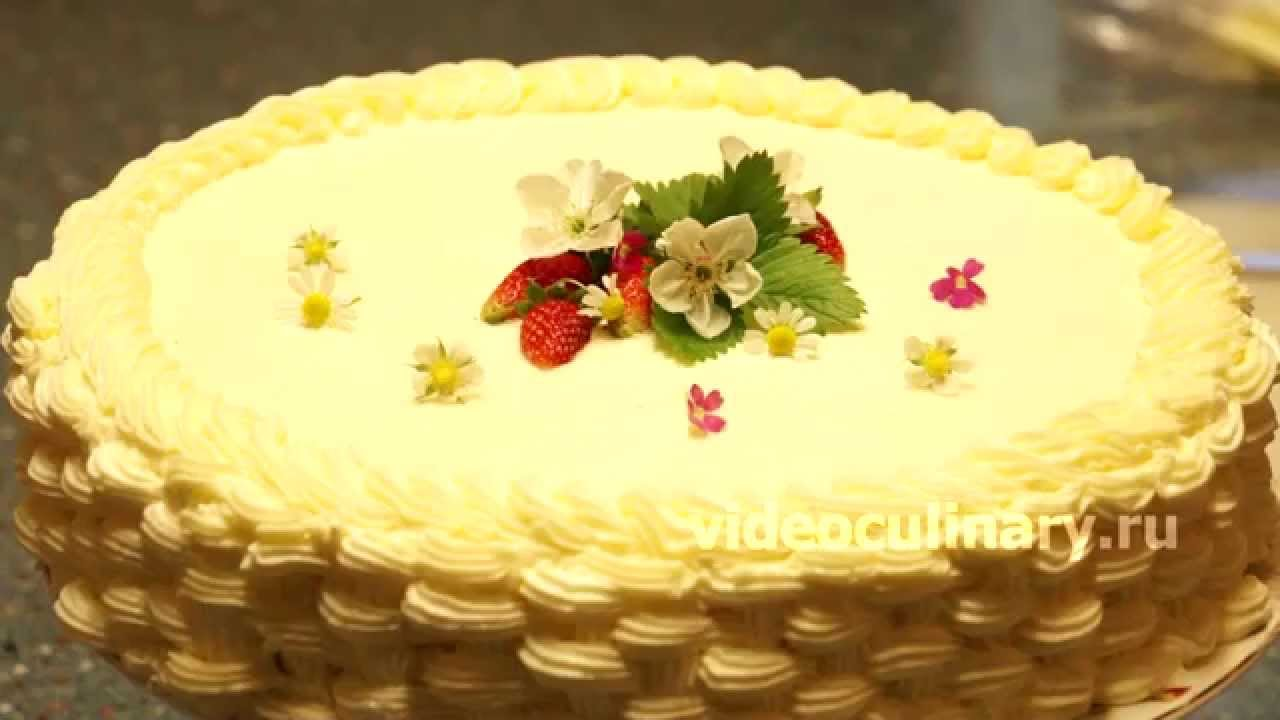 Украшения тортов рецепты