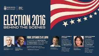 Election 2016: Behind the Scenes - David Corn with Michael Steele