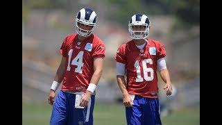 Should Rams Start Sean Mannion Over Jared Goff?   Stadium