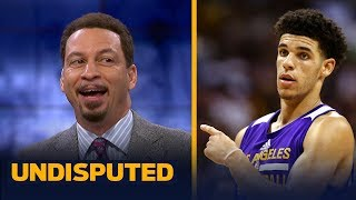Can Lonzo Ball push the Lakers to a playoff spot next season? Chris Broussard answers | UNDISPUTED