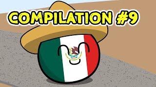 Countryballs Compilation - #9
