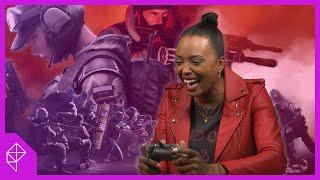 Aisha Tyler trash-talks her way through Rainbow Six Siege