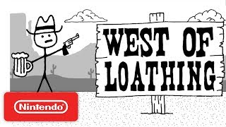 West of Loathing Announcement Trailer - Nintendo Switch