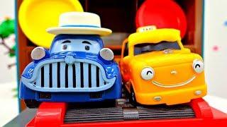 🚓 Robocar Poli Video auf Deutsch ⚠️ Nuri hat einen Unfall 🚩 Robocar Poli Toys 🚩 Video für Kinder