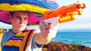 Nerf War: Burrito Battle