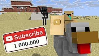 Monster School : 1 MILLION SUBSCRIBER SPECIAL - Minecraft Animation