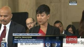 Amita Swadhin testifies on Sessions
