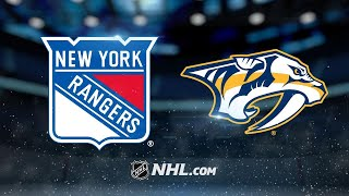 Fiala, Subban lead Predators past Rangers, 5-2