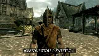 "♫ Arrow in the Knee (Skyrim Music Video) | Johnny ""WLB"" Medlar"