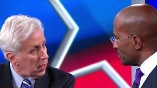 Van Jones, Jeffrey Lord clash over Donald Trump and the KKK