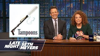 Bad Sponsors with Michelle Wolf: Unlucky Charms Cereal, Tampoons