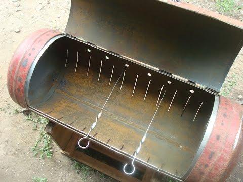 Сделать своими руками мангал из трубы своими руками