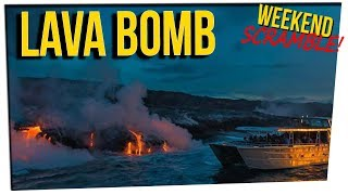 WS - Lava Destroys Boat & Injures 23 ft. Gina Darling & DavidSoComedy