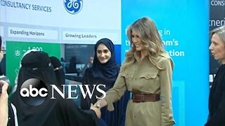 Melania, Ivanka Trump promote women