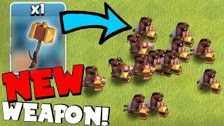 """NEW WEAPON FOR HOG RIDERS!! """"Clash Of Clans"""" LVL 8 UPGRADES!!"""