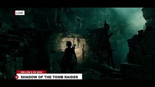 The first tomb in Shadow of the TOMB RAIDER