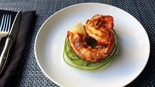 Deviled Lobster Tails - Spicy Broiled Lobster Tails Recipe