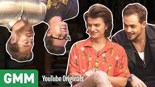Upside Down Interview w/ Stranger Things