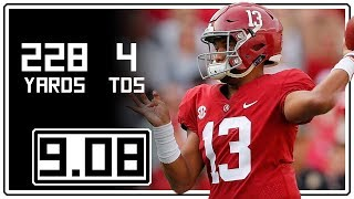 Tua Tagovailoa Full Highlights Alabama vs Arkansas State || 9.08.18 || 228 Yards, 4 TDs