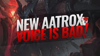 HASHINSHIN REACTS TO NEW AATROX VOICE AND INTERACTIONS